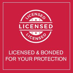 Licensed & Bonded