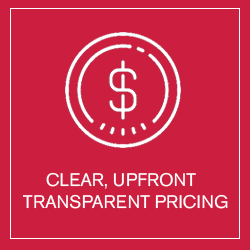 Clear, Upfront Pricing